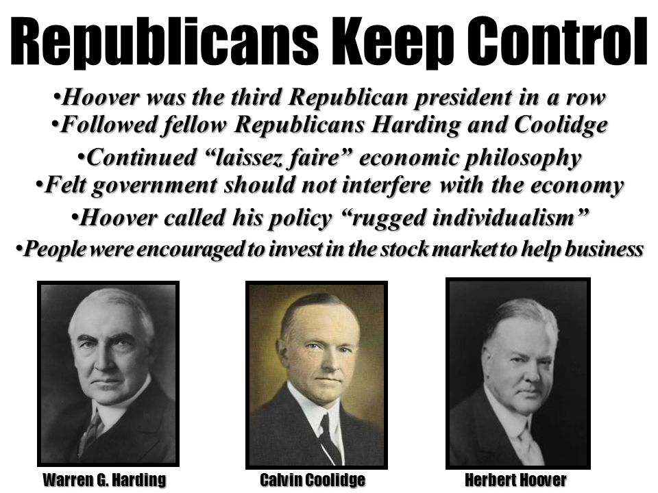 4 Republicans Keep Control
