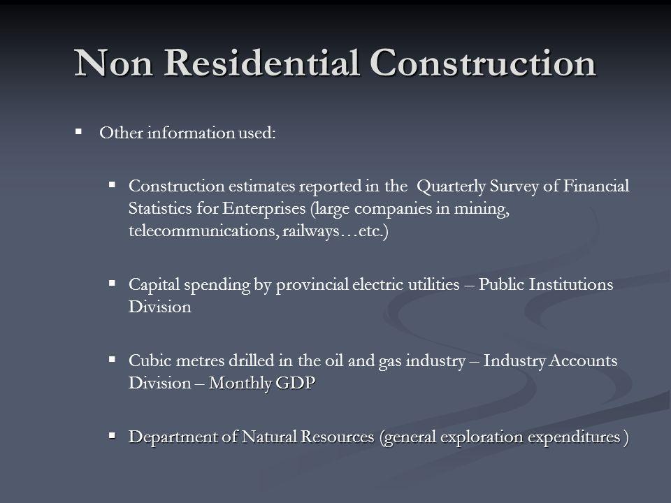 Non Residential Construction