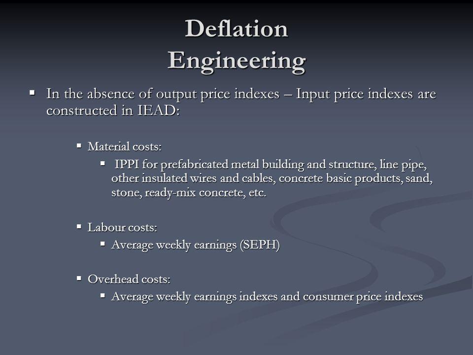 Deflation Engineering