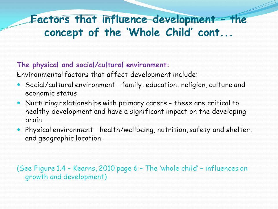 external forces that influences the development
