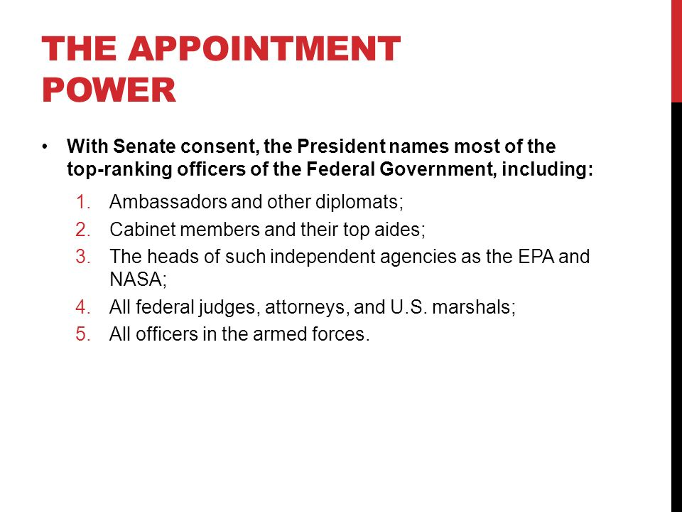 The Presidency in Action - ppt download