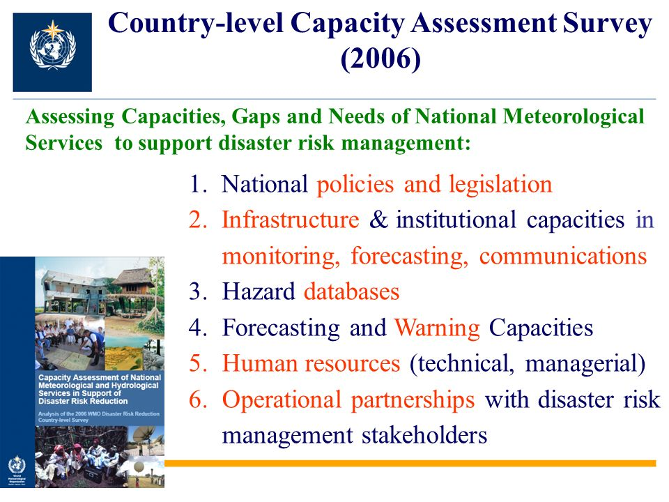 Country-level Capacity Assessment Survey (2006)