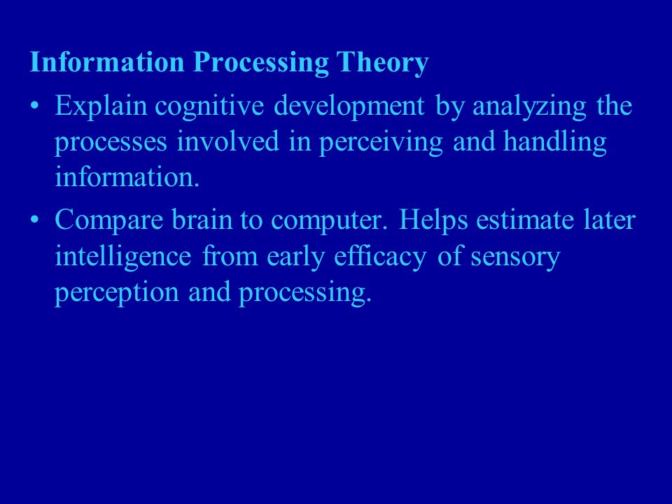 Artificial Intelligence: Cognitive Ability or Information Processing Essay Sample