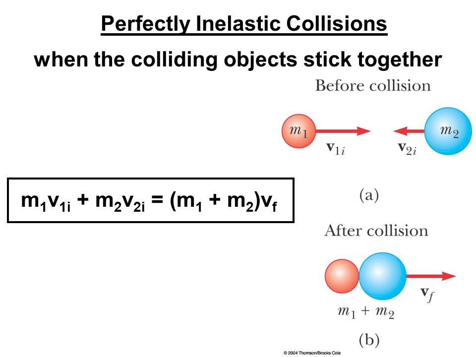 an analysis of velocity and mass in the linear momentum