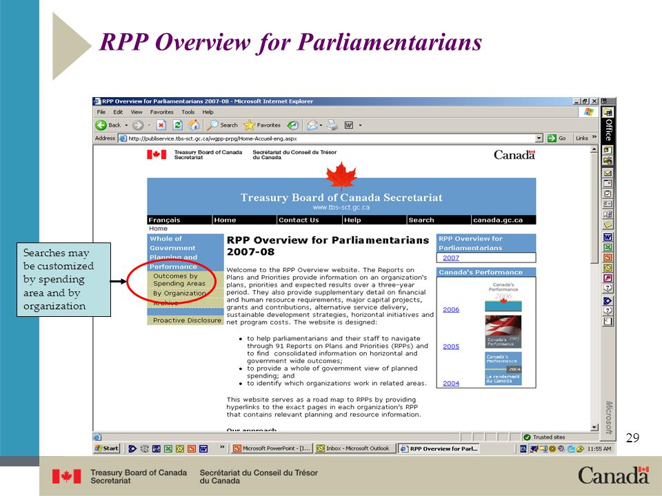 RPP Overview for Parliamentarians
