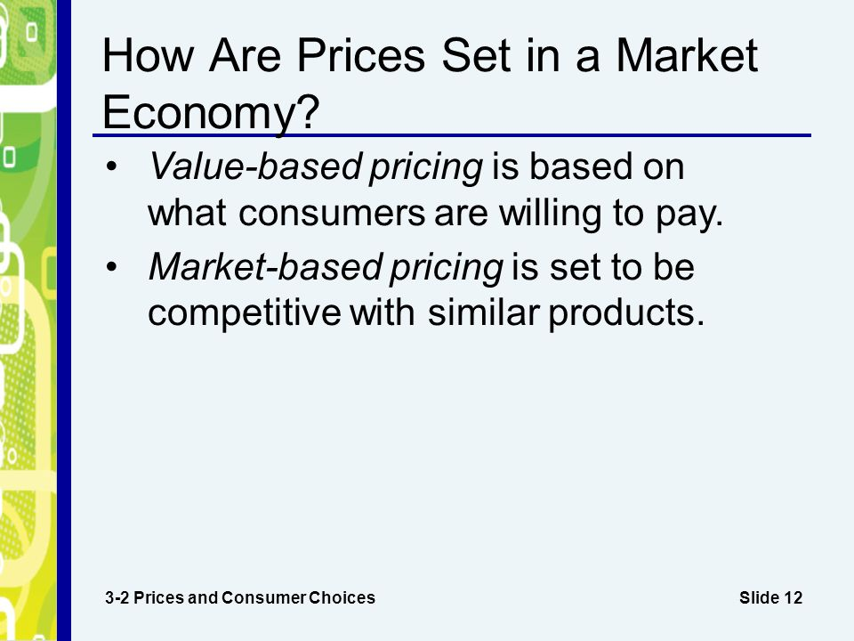 economic model of price determination in a market economics essay 42 government intervention in market prices: allow rents to keep pace with price increases elsewhere in the economy a model 92 output determination in the.