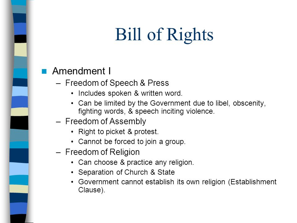 Right To Own Property Bill Of Rights