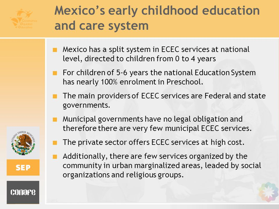 Mexico's early childhood education and care system