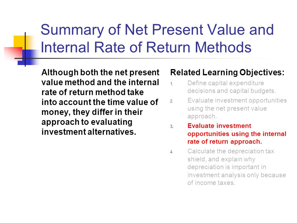 net present value method essay Net present value analysis information technology essay task-1 cobit is the only basis for business management and it management this evolutionary version incorporates the latest ideas in management practices and management, and provides globally accepted principles, practices, analytical tools and models to help build confidence and value of information systems.