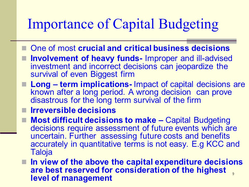importance of budget management The importance of budget control in organization  so the incentive and restrictive mechanism in the budget management is most importance (michel j lebasa, 1995 .