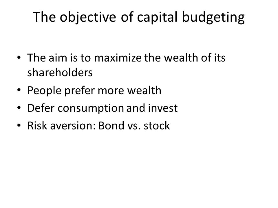 a description of capital budgeting as an essential managerial tool Strategic planning guidelines has been prepared strategic planning is an essential tool glossary of selected planning and budgeting terms.