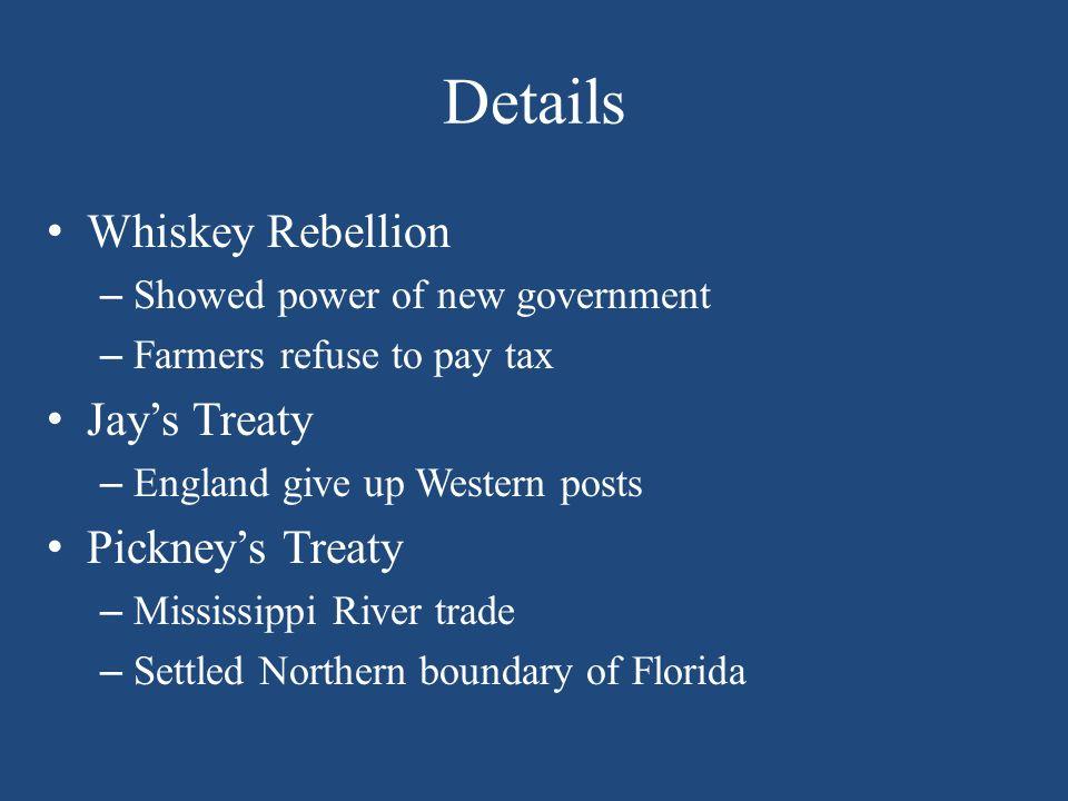 jays treaty pinckneys treaty and the