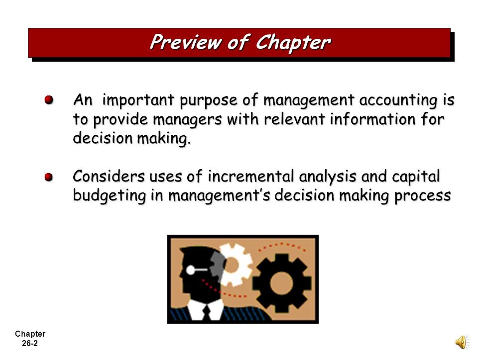 importance of management accounting Management accounting or managerial accounting gives accounting information to managers within organizations is of far greater importance than.