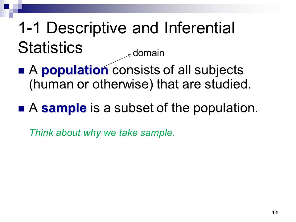 descriptive and inferential statistics Use inferential statistics to draw conclusions from data learn to develop hypotheses and use tests such as t-tests, anova, and regression to validate your claims.