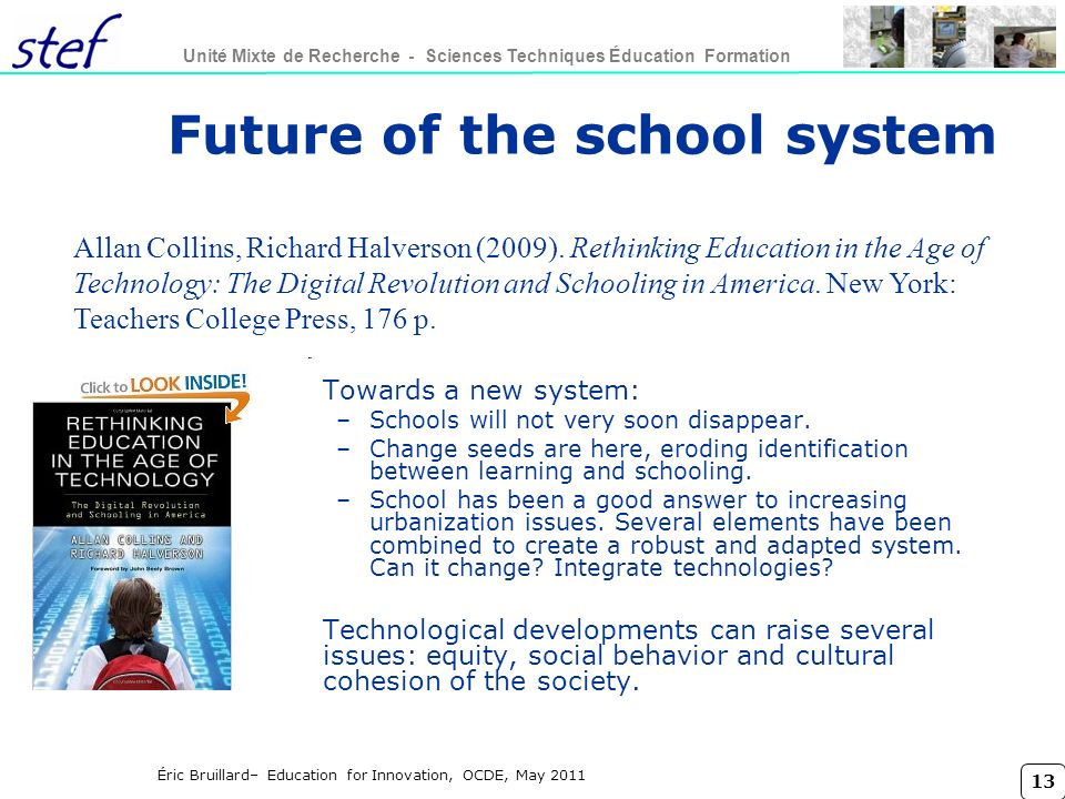 Future of the school system