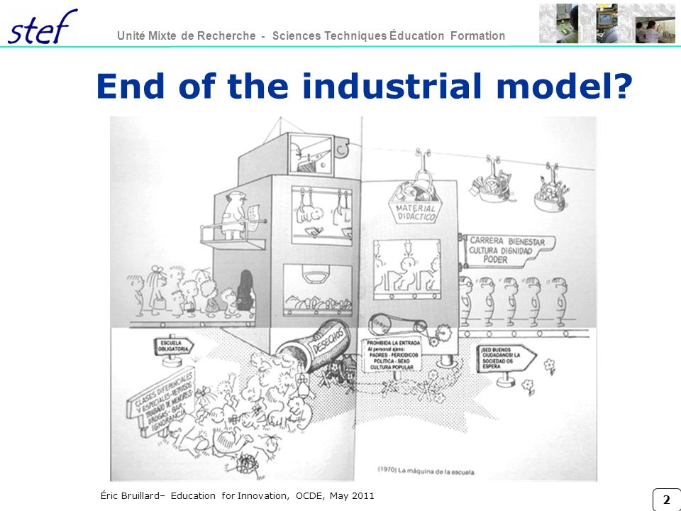 End of the industrial model