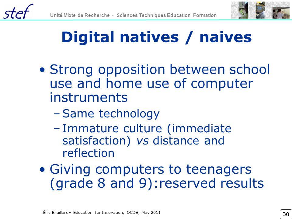 Digital natives / naives