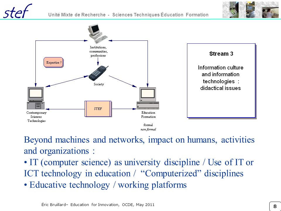 Educative technology / working platforms