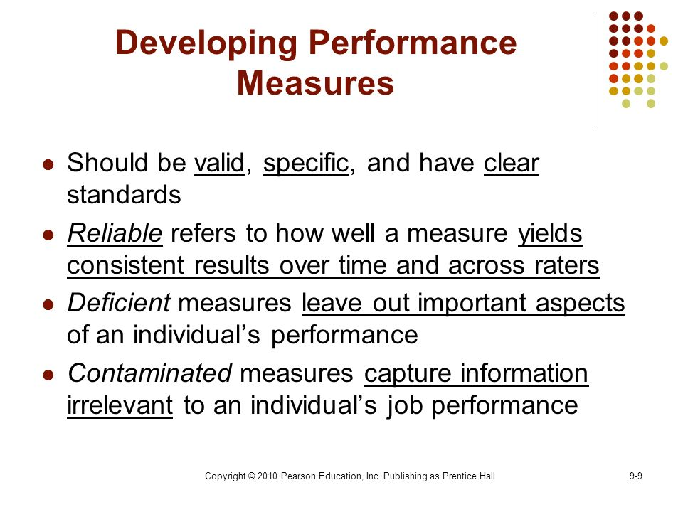 how to measure individual work performance