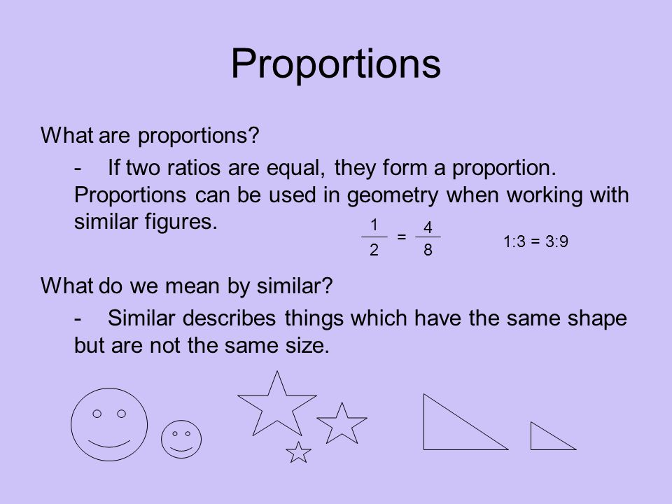 Applications Proportions - ppt download