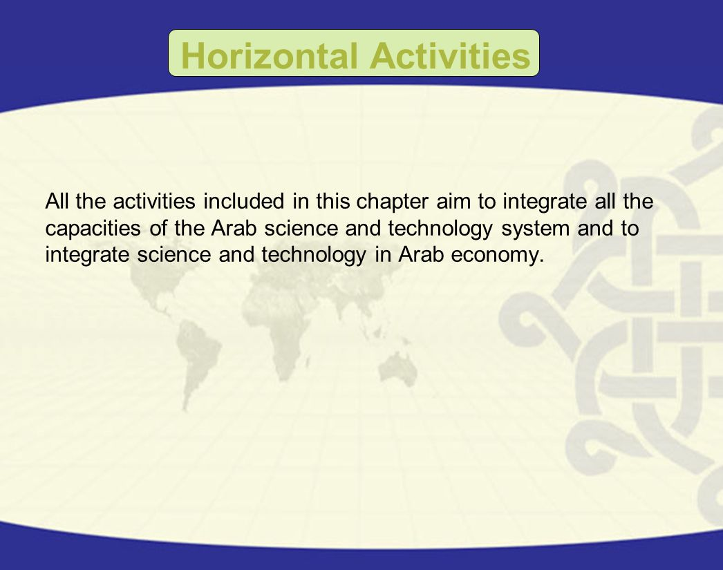 Horizontal Activities