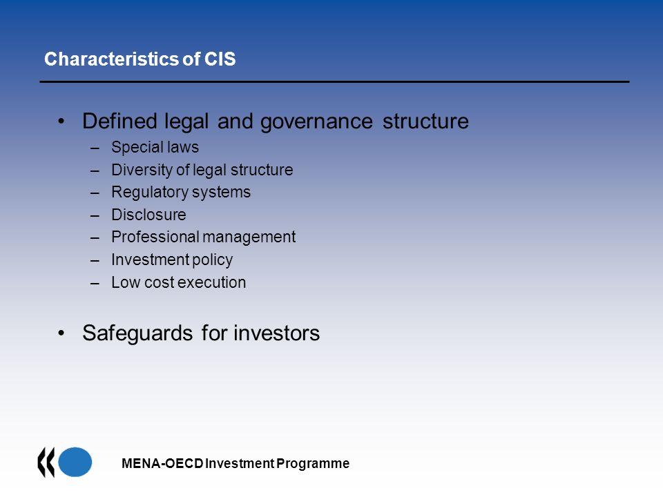 Characteristics of CIS