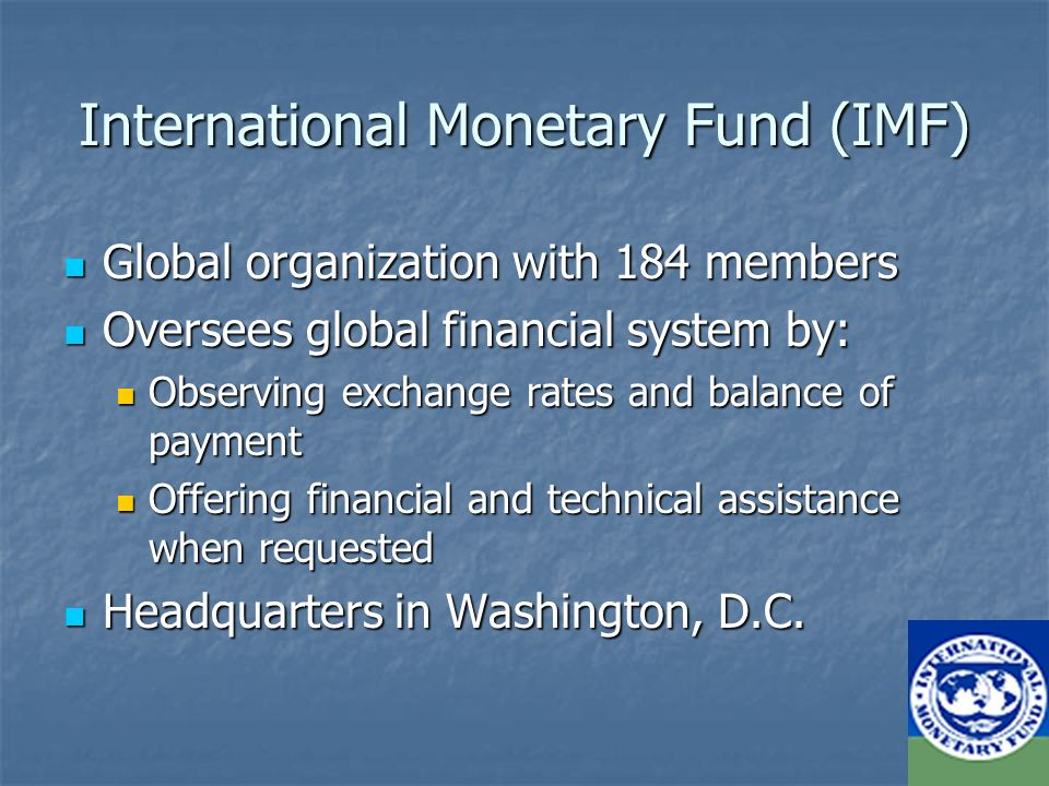 The international monetary fund ppt download 3 international sciox Images
