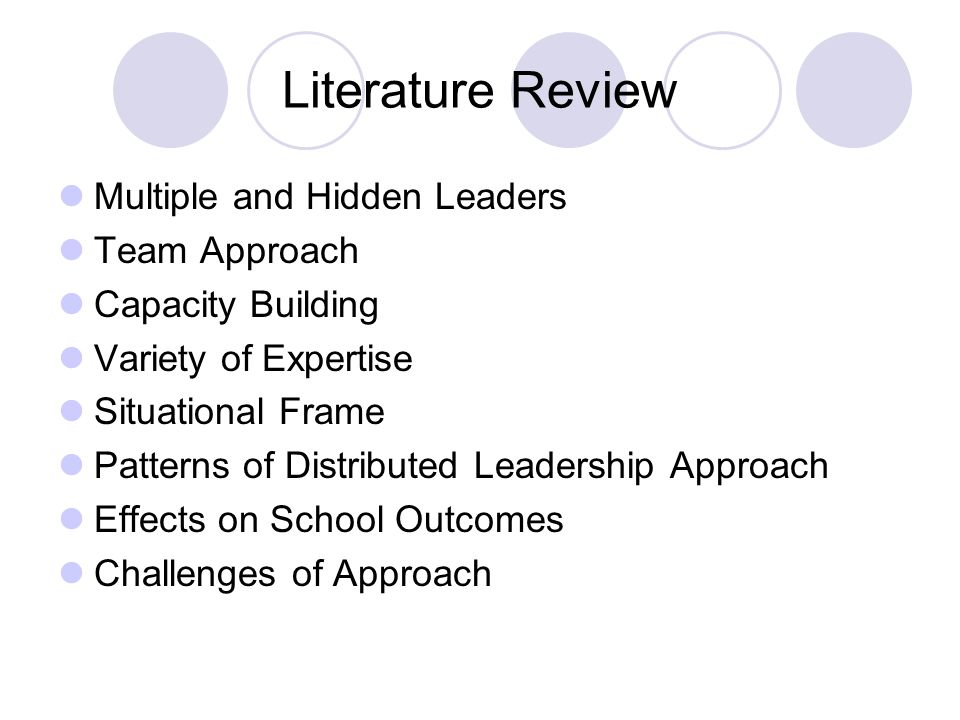 Literature review on building team effectiveness Essay Sample