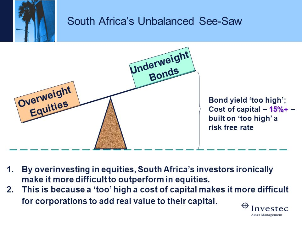 South Africa's Unbalanced See-Saw