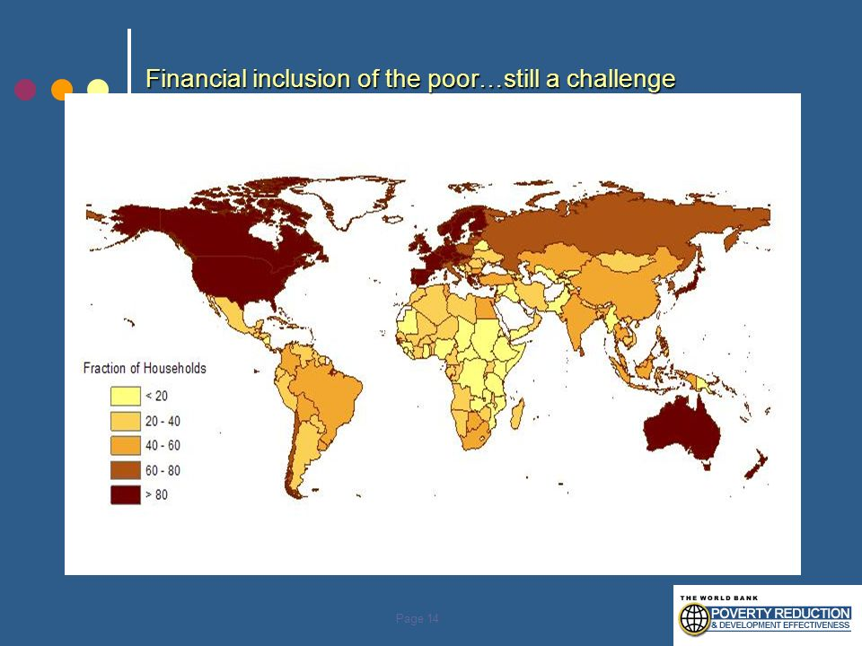 Financial inclusion of the poor…still a challenge