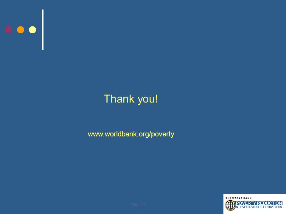 Thank you! www.worldbank.org/poverty