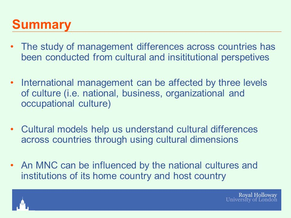 What is cross cultural management? What are its functions ...