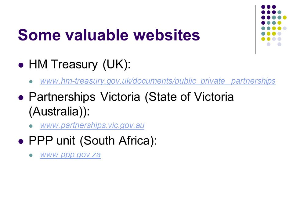 Some valuable websites
