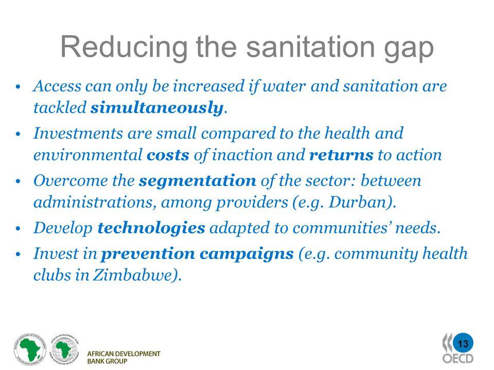 Reducing the sanitation gap