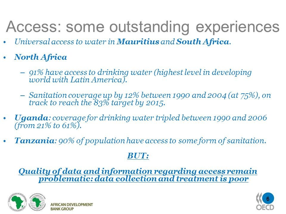 Access: some outstanding experiences