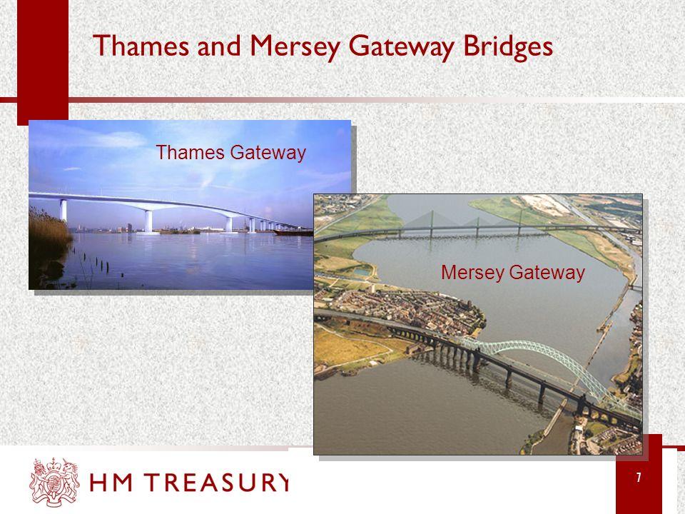 Thames and Mersey Gateway Bridges