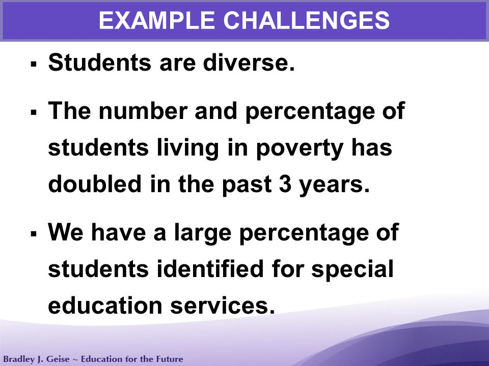 Speech: Challenges of Being a Student