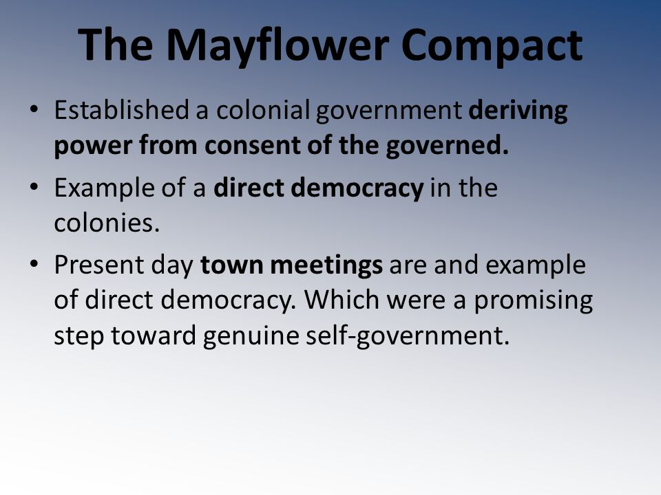 the importance of the mayflower compact in the path to religious freedom What is the importance in american history of the mayflower compact (points : 1) t was the first document to be written in north america it was an attempt at establishing a parliament in north america.