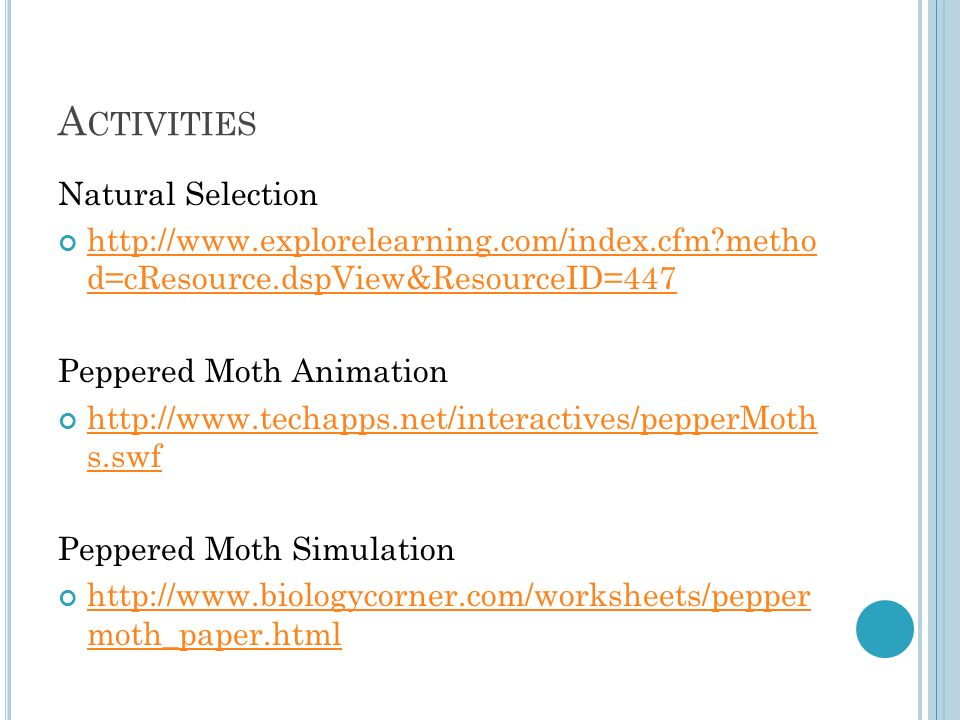Success Academy Overview ppt video online download – Peppered Moth Simulation Worksheet