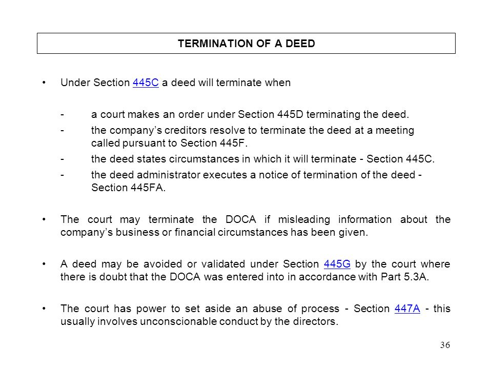 LAW EXTENSION COMMITTEE ppt download – Deed of Release and Indemnity