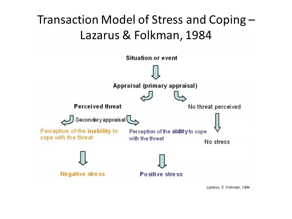 coping skill and lazarus stress theory Recognize emotion-focused and problem-focused coping strategies  the  response model of stress incorporates coping within the model itself  richard  lazarus developed the transactional theory of stress and coping (ttsc) (lazarus ,.
