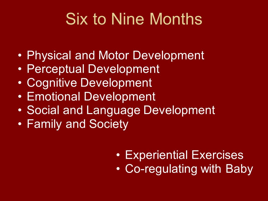 six to nine months fogel chapter 7 ppt download