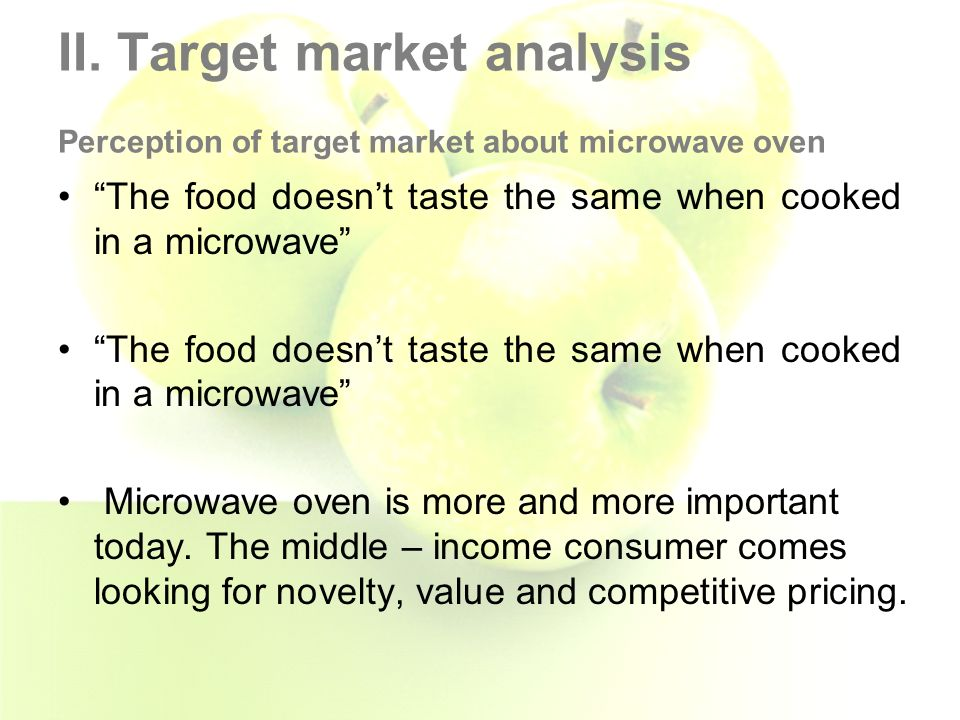 Marketing Microwave Ovens To A New Market Segment  Ppt Video