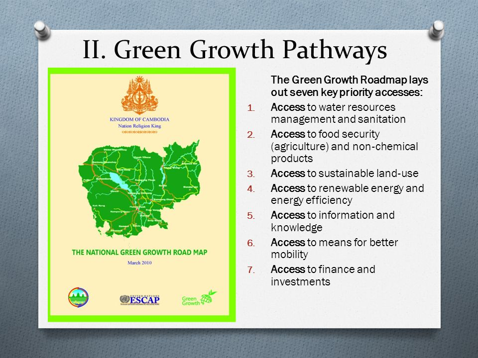 II. Green Growth Pathways