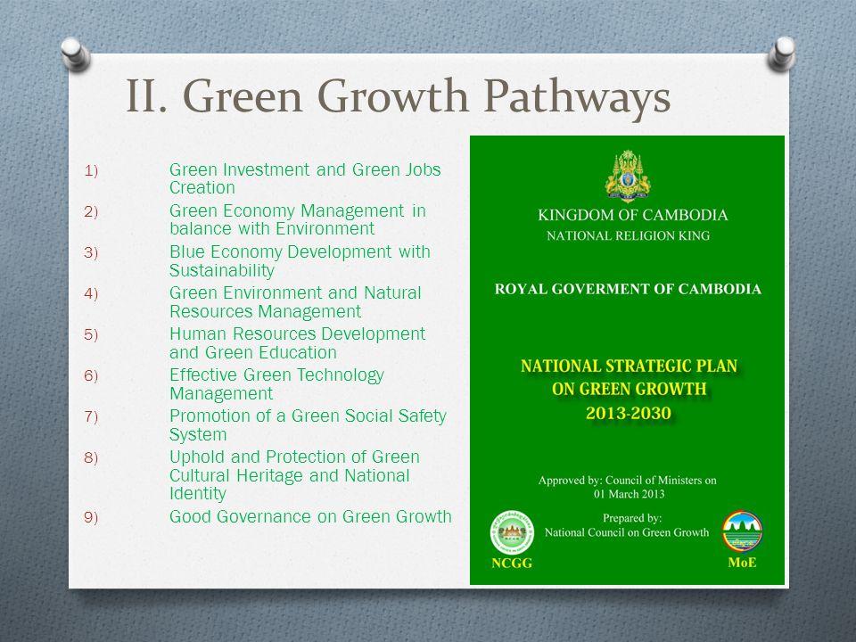 II. Green Growth Pathways