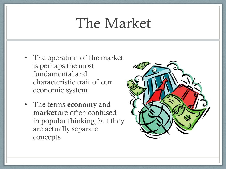 Understanding the concept of the modified market economy