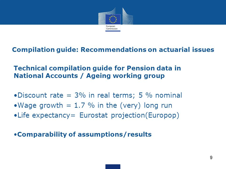 Compilation guide: Recommendations on actuarial issues