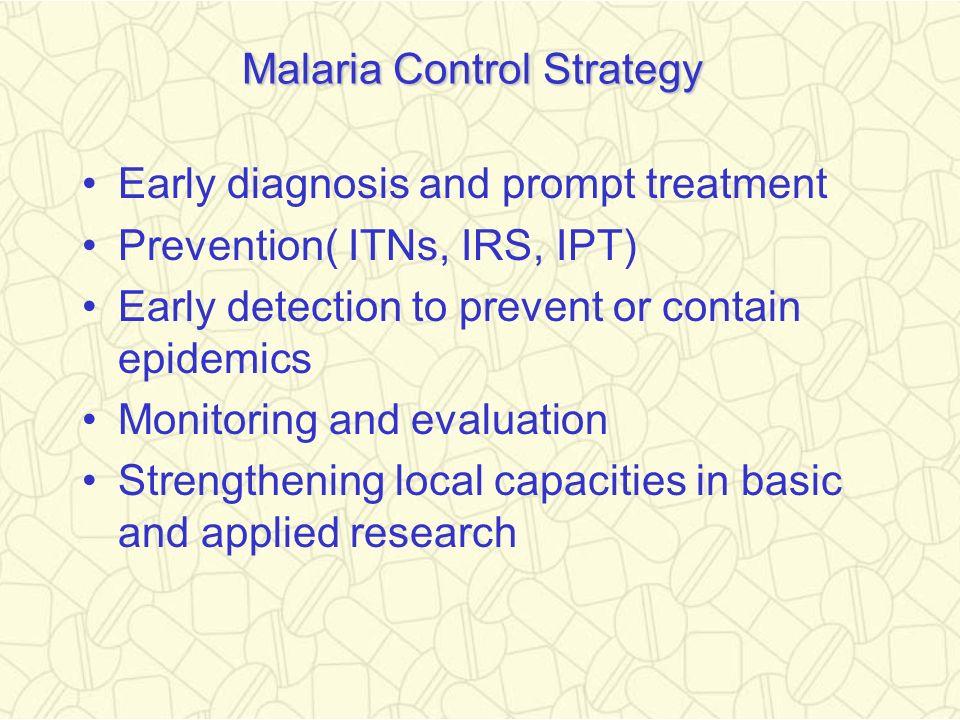 Malaria Control Strategy