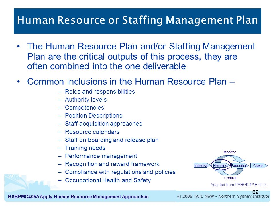 Human resources plan sample hr planning markov analysis hr for Human resource plan template pmbok
