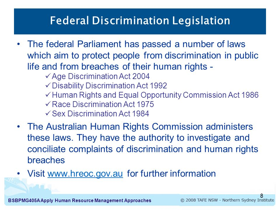 discrimination and human rights act Bullying is the common denominator of harassment, discrimination, abuse, conflict and violence and the underlying behaviour of tyranny, dictatorship, repression, civil rights and human rights abuse.